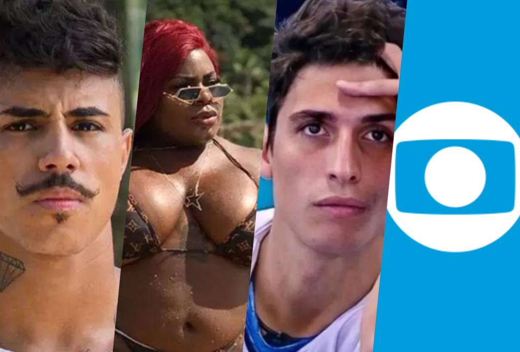 Record se anima com BBB20 e quer Jojo, Felipe Prior, Livinho e apresentador da Globo na Fazenda 12 (Foto montagem: TV Foco)