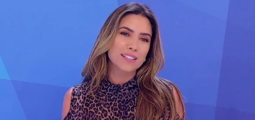Patrícia Abravanel entrevistou Irís Abravanel (Foto: Reprodução)