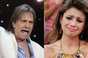 Paula Fernandes e Roberto Carlos nunca mais tiveram um encontro nos palcos (Montagem: TV Foco)