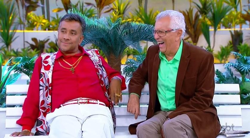 Paulinho Gogó e Carlos Alberto de Nóbrega (Foto: Reprodução)