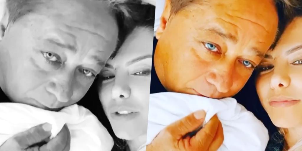 Esposa de Leonardo, Poliana Rocha foi atacada por internauta e chamada de velha e traída (Foto montagem: TV Foco)