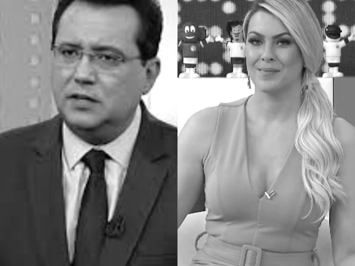 Sensitivas fazem previsões arrasadoras para Geraldo Luis e Renata Fan (Foto: Reprodução/Montagem TV Foco)