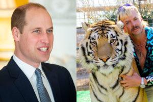 Príncipe William e Tiger Ting