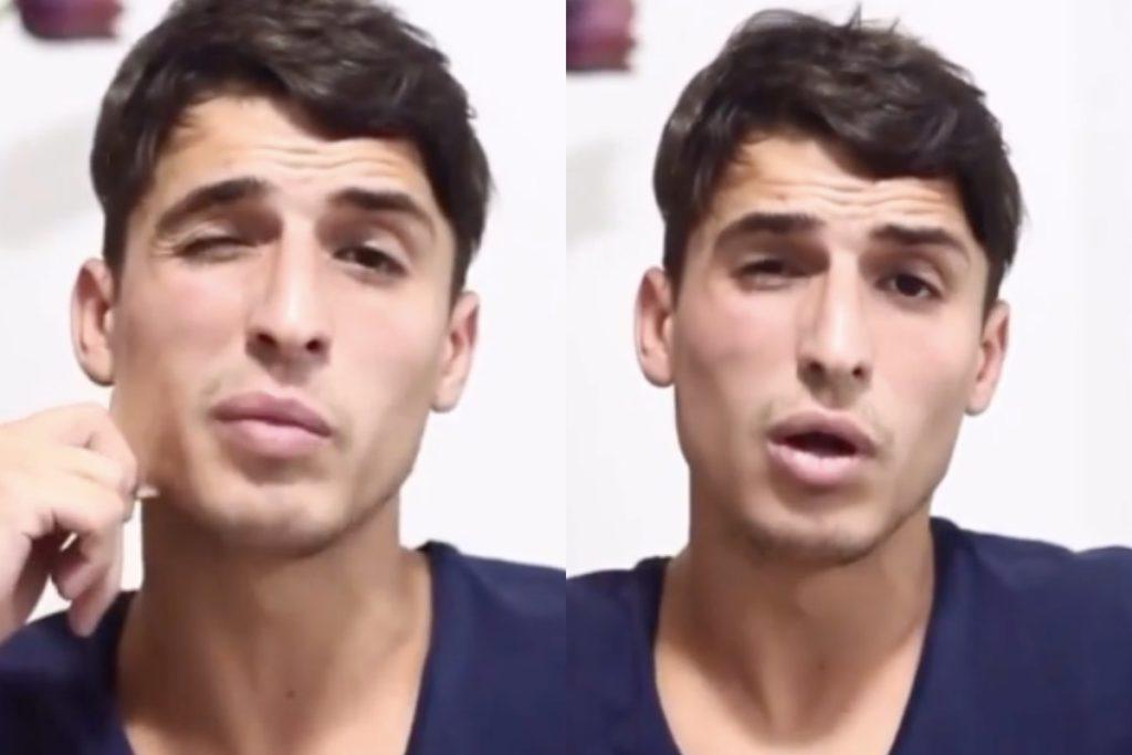 Felipe Prior do BBB20 se defendeu em vídeo sobre acusações (Foto montagem)