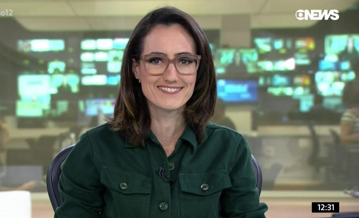 Raquel Novaes, da GloboNews, está com Coronavírus - Foto: Reprodução