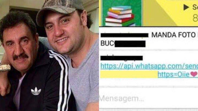 Ratinho é confundido com o filho Ratinho Jr em buscas na internet e tem nome envolvido em polêmica (Montagem: TV Foco)