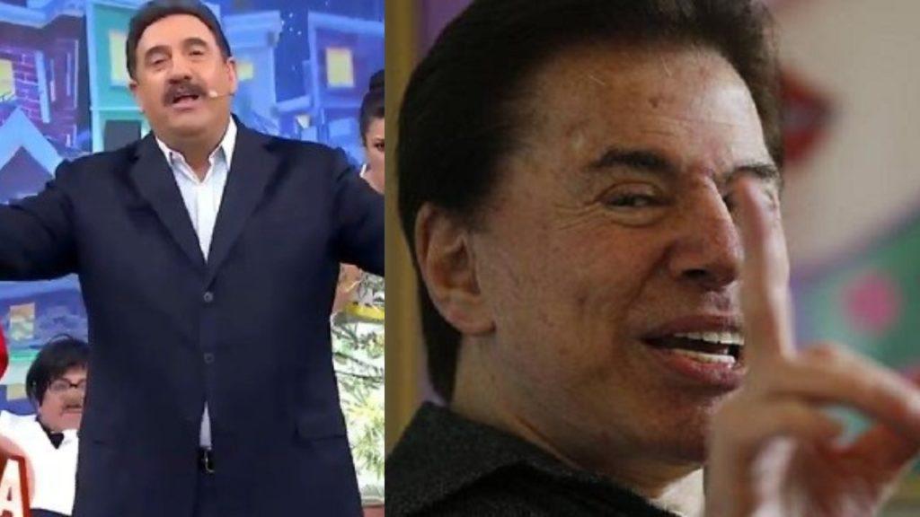 """Ratinho recebeu """"não"""" de Silvio Santos (Foto: Reprodução/SBT/Redes Sociais)"""