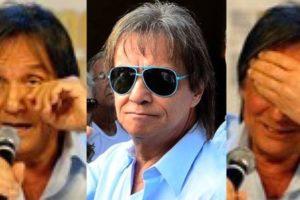 Roberto Carlos é pressionado a fazer show nas redes sociais (Montagem: TV Foco)