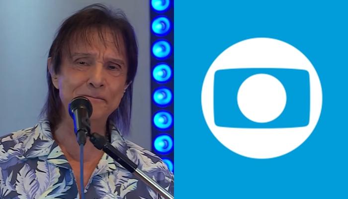 Roberto Carlos, que tem contrato de exclusividade, se apresentará em nova live da Globo (Foto: Reprodução/Globo/Montagem