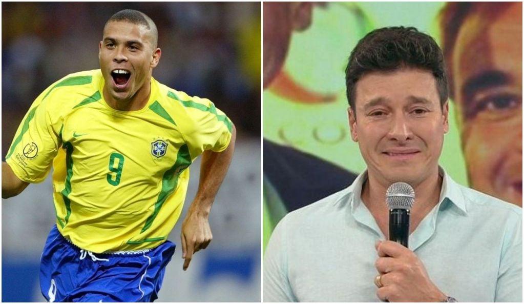 Copa do Mundo e Rodrigo Faro disputaram audiência na tarde deste domingo - Foto: Montagem