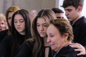 Rose Miriam Di Matteo e os filhos de Gugu Liberato