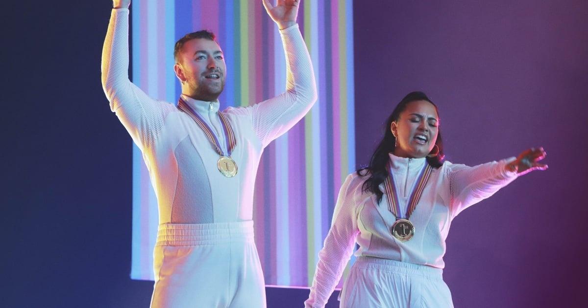 Após ansiosa espera dos fãs, Demi Lovato e Sam Smith lançam I'm Ready, música com direito a videoclipe (Foto: Reprodução)