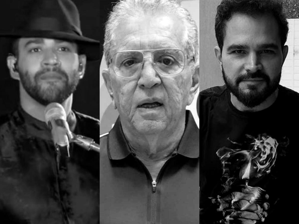 Sensitiva faz previsão para Gusttavo Lima, Carlos Alberto de Nóbrega e Luciano Camargo (Foto: Reprodução/Montagem TV Foco)