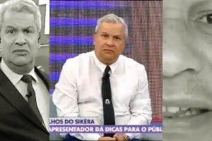 Sikêra Jr. deu uma entrevista enquanto estava preso em casa (Foto; reprodução/RedeTV!)