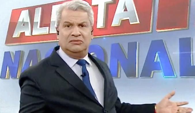 Sikêra Jr no Alerta Nacional (Foto: Reprodução/RedeTV!)