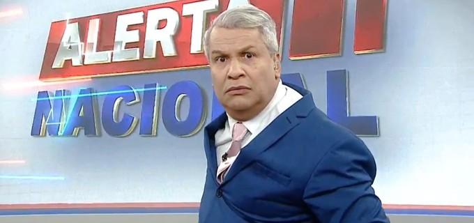 O apresentador da RedeTV!, Sikêra Jr. (Reprodução)
