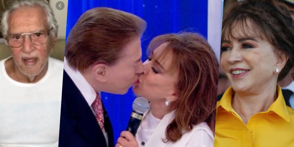 Silvio Santos virou alvo de bombas nos últimos dias que envolvem Carlos Alberto a esposa e suposta filha (Foto montagem: TV Foco)