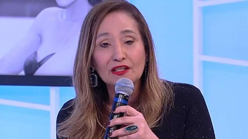 Sonia Abrão surgiu se declarando para cantor (Foto: Reprodução)