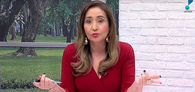 Sonia Abrão rebateu as críticas feitas por Xand Avião (Reprodução: RedeTV!)