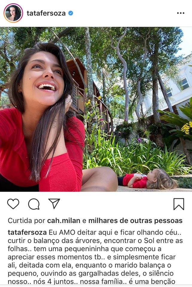 Thais Fersoza surge ao lado de Melinda em um registro encantador (Imagem: Instagram)