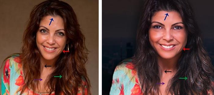 Thalita Rebouças e sua imagem adulterada em site bolsonarista (Foto: Reprodução/Montagem Aos Fatos)