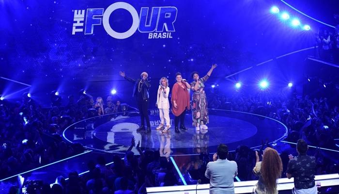 Participantes no quinto episódio do The Four Brasil (Foto: Blad Meneghel)