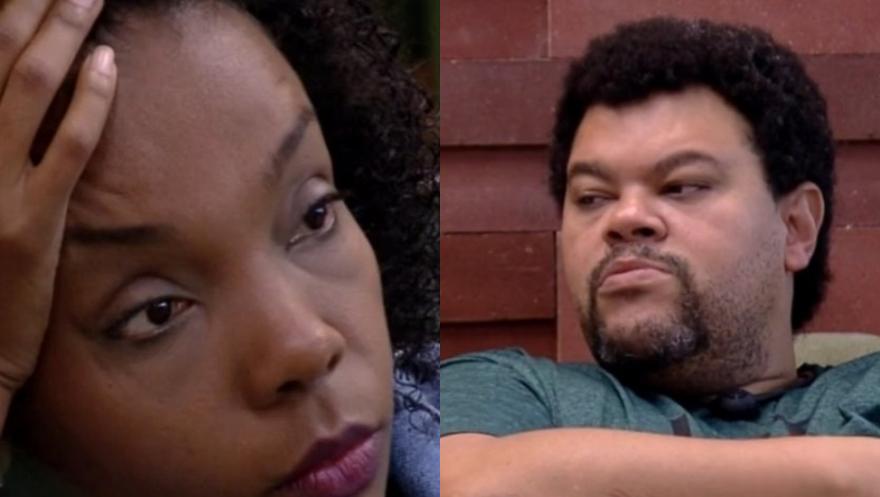 Thelma e Babu falam sobre a fala de Lucas no BBB20 (Foto: Reprodução)