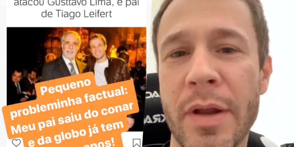 Tiago Leifert falou e rasgou o verbo sobre polêmica (Foto reprodução)