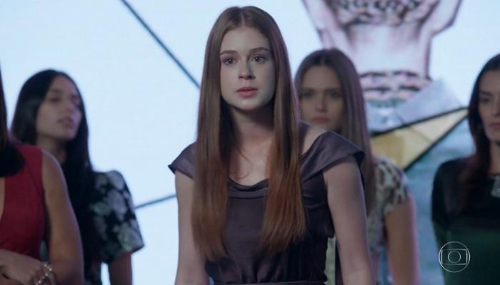 Marina Ruy Barbosa (Eliza) em Totalmente Demais; reprise já tem mais audiência que exibição inédita (Foto: Reprodução/Globo)