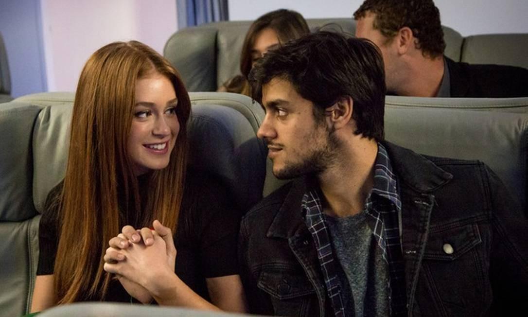 Eliza e Jonatas ficarão juntos no final de Totalmente Demais (Imagem: Globo)