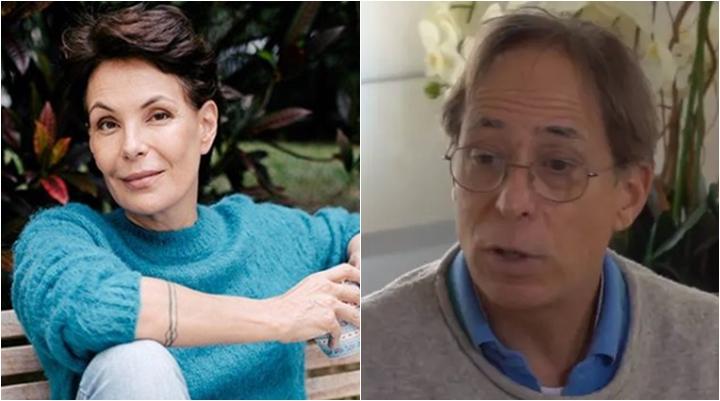 Carolina Ferraz e Pedro Cardoso estão na lista negra da Globo. (Foto: Montagem/Divulgação)