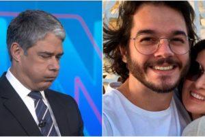 Carlos Bolsonaro fez postagem polêmica envolvendo William Bonner, Fátima Bernardes e Túlio Gadêlha (Reprodução)