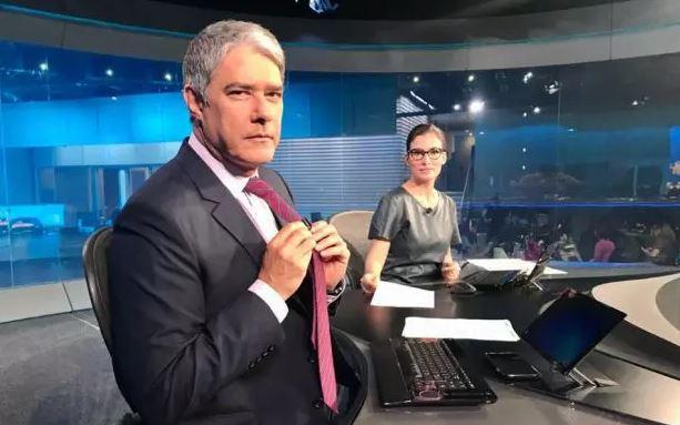 William Bonner e Renata Vasconcellos entregaram segredos do Jornal Nacional (Foto: Reprodução/TV Globo)