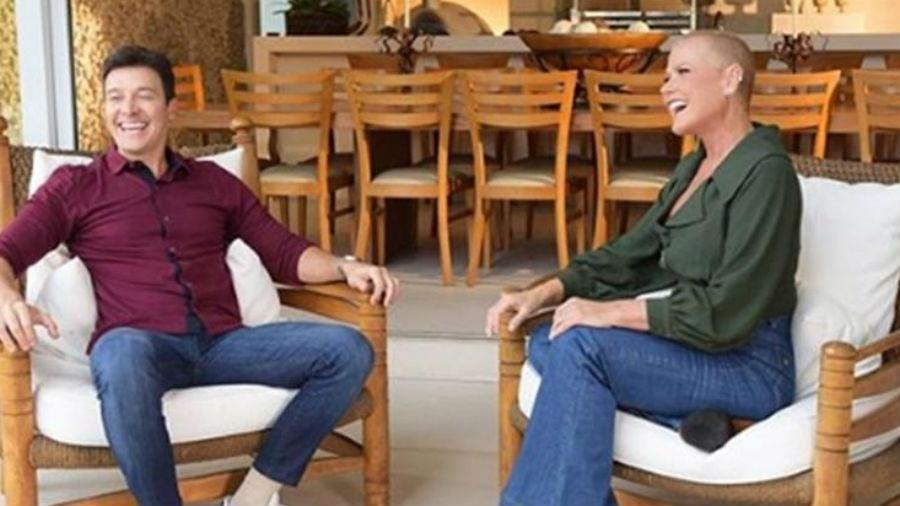 Salários milionários de Rodrigo Faro e Xuxa Meneghel foram envolvidos na história (Foto: Reprodução)