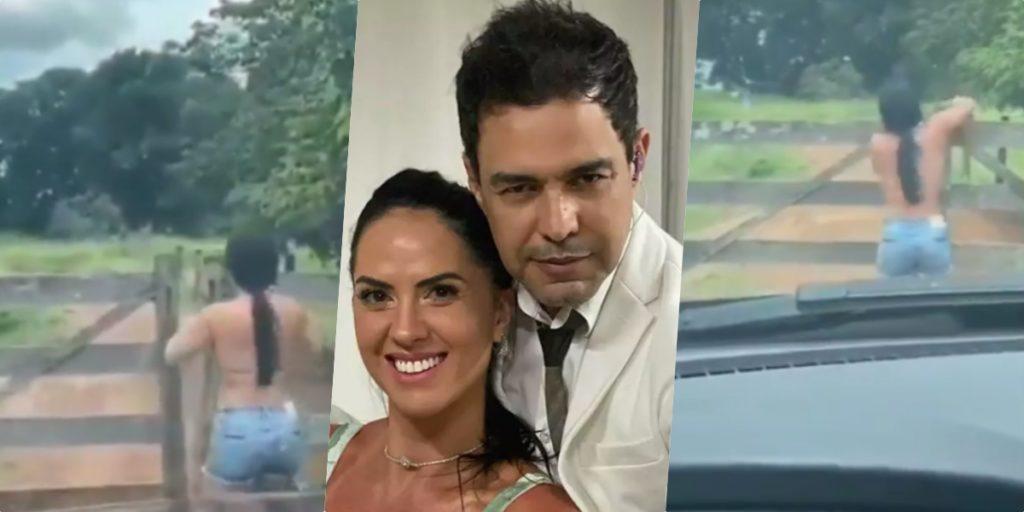 Esposa de Zezé virou alvo de ataques de Cleo Loyola (Foto reprodução)