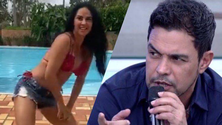 Graciele Lacerda decidiu cair no funk, e a noiva de Zezé Di Camargo arrasou (Montagem: TV Foco)