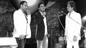 Zezé Di Camargo e Luciano em parceria com Roberto Carlos (Foto: Reprodução/YouTube)