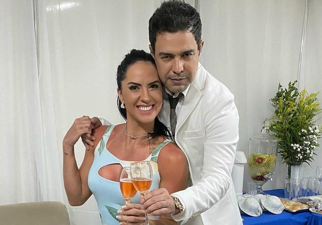 Zezé Di Camargo e Graciele Lacerda estariam enfrentando uma crise financeira por causa da pandemia do novo coronavírus Foto: Reprodução/Instagram)
