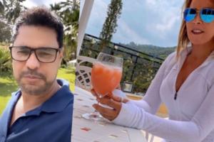 Zilu Camargo se vinga de Zezé após tanto sofrimento (Foto montagem: TV Foco)