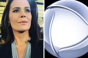 Adriana Araújo deve retornar à bancada do Jornal da Record em breve (Foto: Montagem/TV Foco)