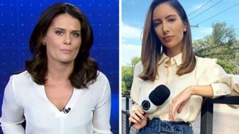 Adriana Araújo e Paloma Poeta (Foto: Montagem/TV Foco)
