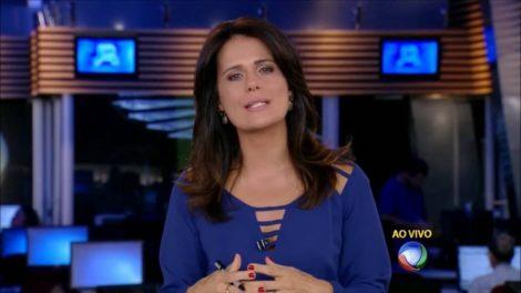 Adriana Araújo na Record (Foto: Reprodução)