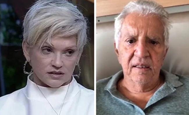 Andréa de Nóbrega expôs sua vida íntima com Carlos Alberto de Nóbrega (Foto: Montagem/TV Foco)