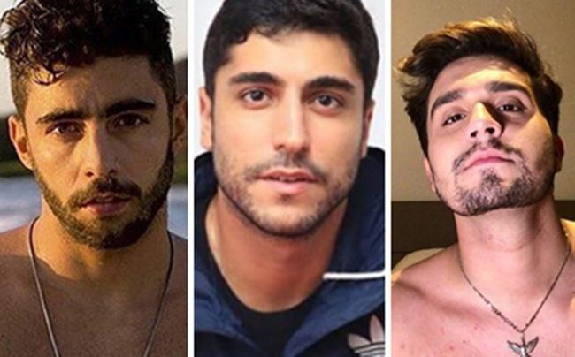 Pedro Scooby, Thiago Magalhães e Luan Santana, ex-namorados de Anitta (Foto: Montagem/TV Foco)