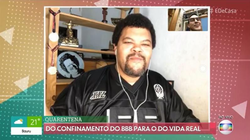 Babu Santana fala sobre carreira fora do BBB (Foto: Reprodução/GloboPlay)