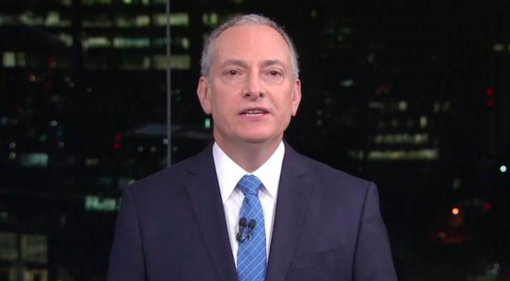O famoso apresentador e comentarista do grupo Globo, José Roberto Burnier falou sobre Jair Bolsonaro ao vivo (Foto: Reprodução)