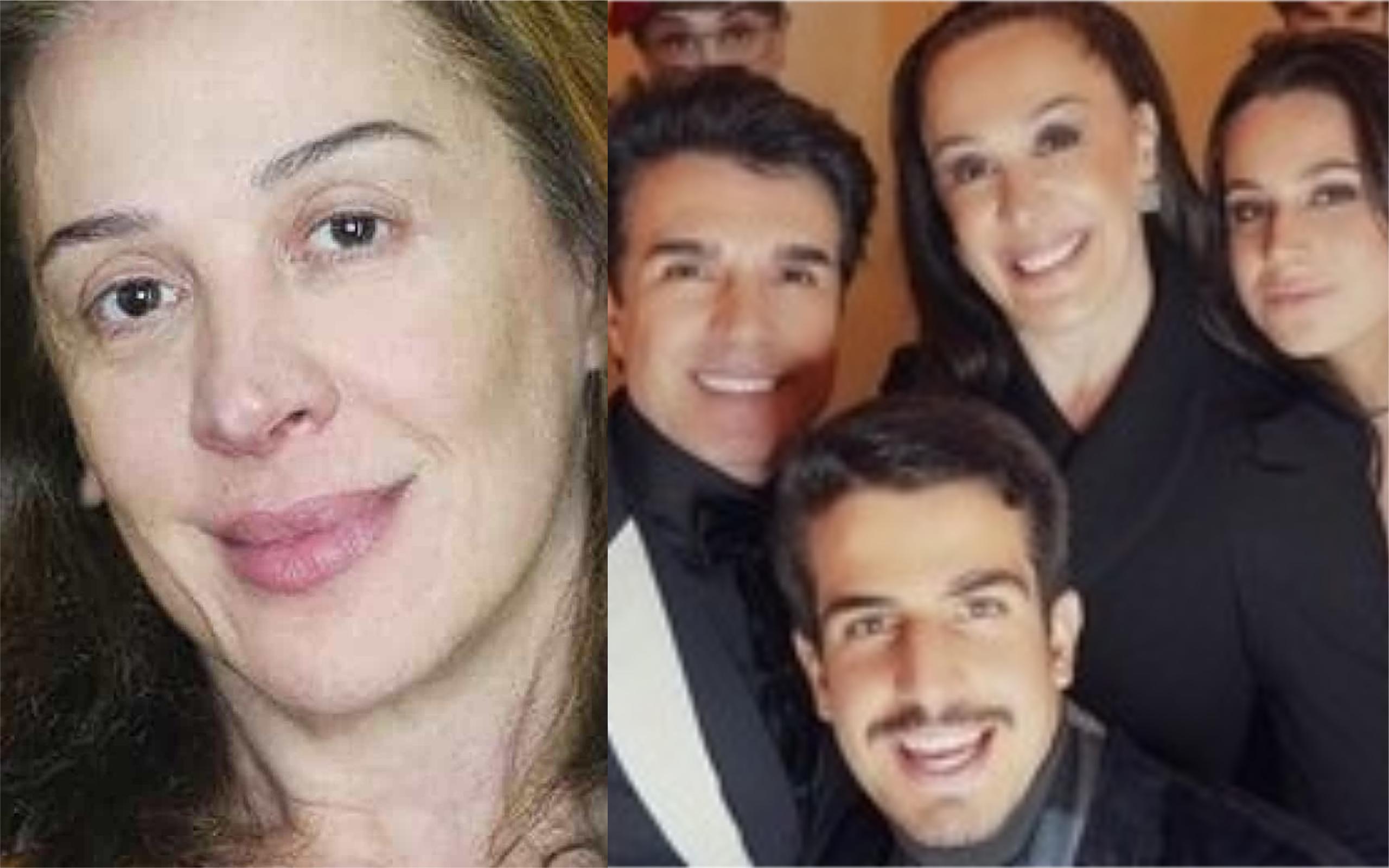 A atRIZ Claudia Raia e a sua família foram contaminados com o novo Coronavírus (Foto: Divulgação)