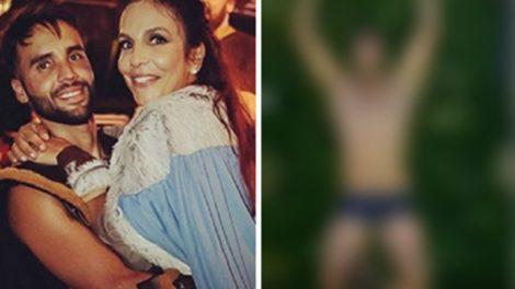 Marido de Ivete Sangalo vem causando nas redes sociais (Foto: Montagem/TV Foco)