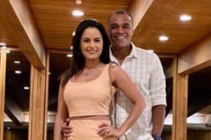 Luciele Camargo e Denilson (Foto: Reprodução)