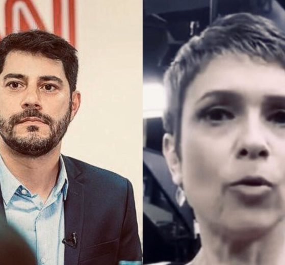 Evaristo Costa, Sandra Annenberg